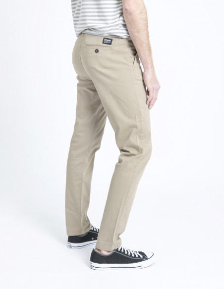 pantalon chino clark beige dr denim sommes demode zaragoza