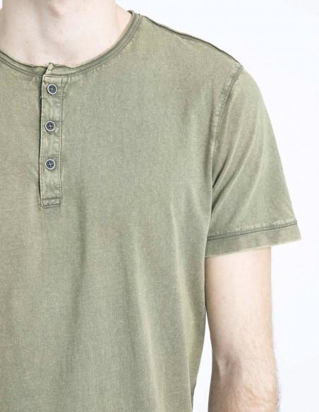 camiseta caqui pierre solid sommes demode zaragoza