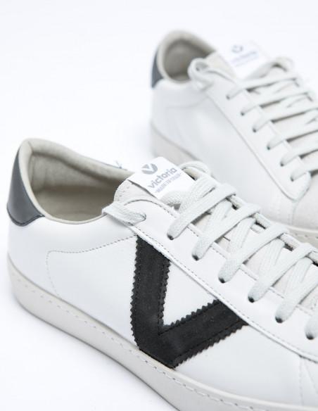 zapatillas berlin piel contraste victoria