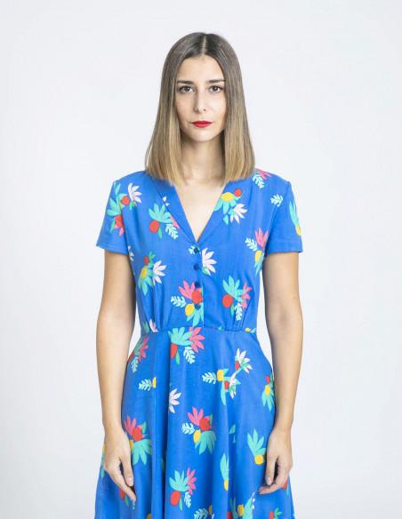 vestido adele summer fruits emily and fin sommes demode zaragoza