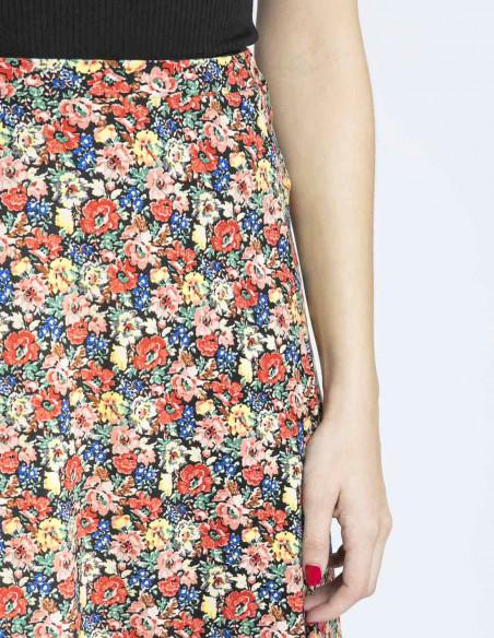 falda midi juno flores king louie sommes demode zaragoza