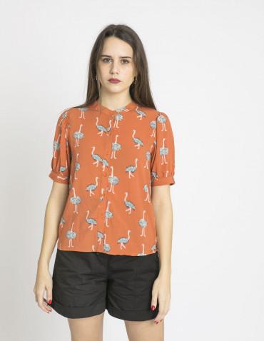 camisa avestruces compañia fantastica sommes demode zaragoza