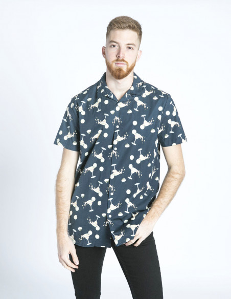 camisa cocteles rambo solid sommes demode zaragoza