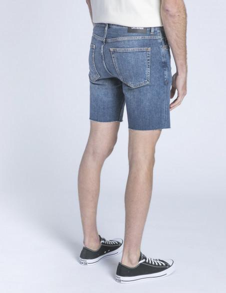 pantalon corto denim clark dark blue dr denim sommes demode zaragoza
