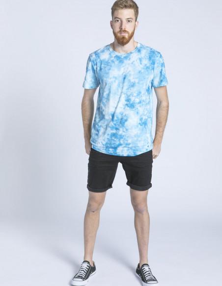 camiseta stockholm tie dye azul sommes demmode zaragoza