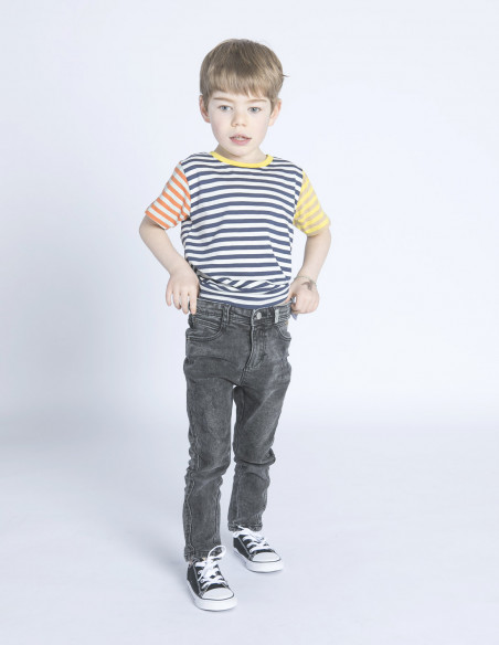 camiseta mini hamra block stripes dedicated sommes demode zaragoza