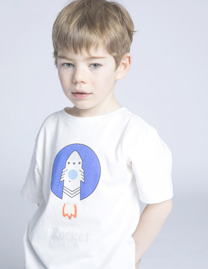 camiseta mini cohete compañia fantastica sommes demode zaragoza