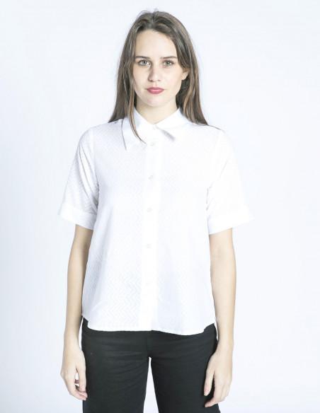 camisa blanca manga corta wild pony sommes demode zaragoza