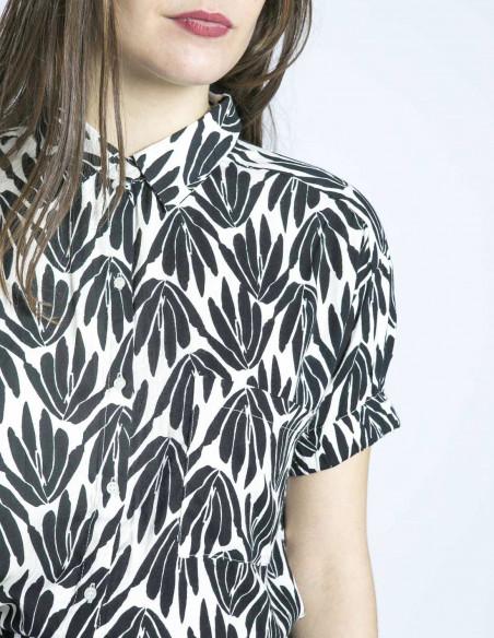 camisa estampado vegetal compañia fantastica sommes demode zaragoza