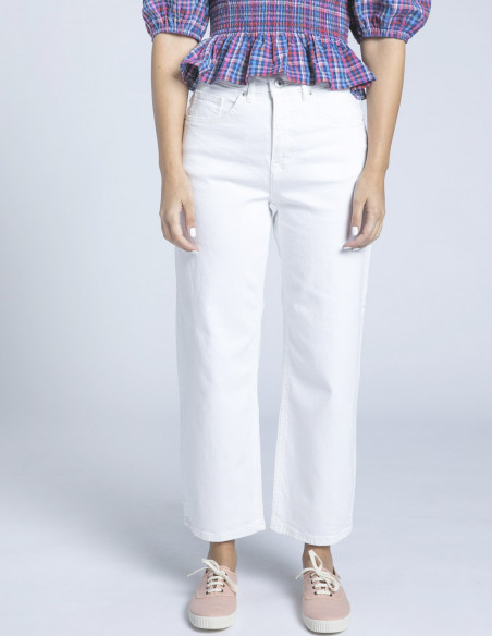 jeans ziggy blanco ichi sommes demode zaragoza