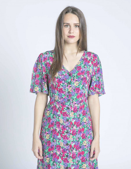 vestido flores carrie grace and mila sommes demode zaragoza