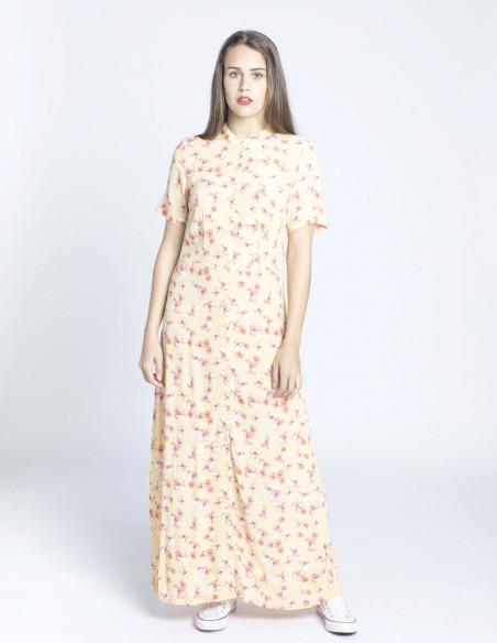 vestido largo flores dana desires sommes demode zaragoza