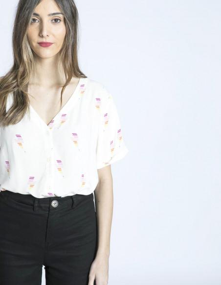 camisa hatty rayos de colores sugarhill brighton sommes demode zaragoza
