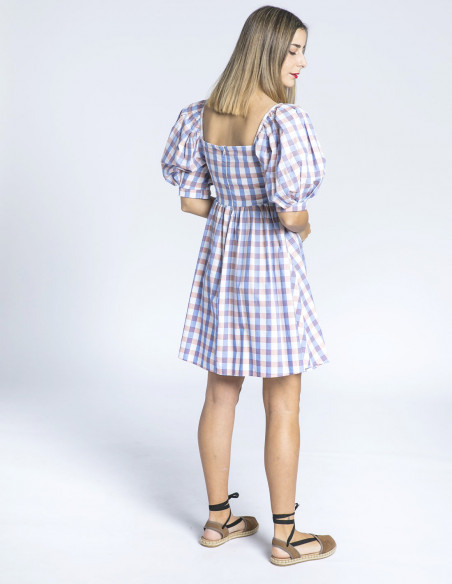 vestido cuadros colombia maggie sweet sommes demode zaragoza