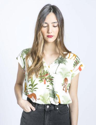 camisa coco jungle animals sommes demode zaragoza