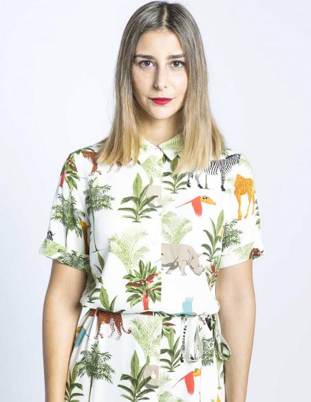 vestido justine jungle animals sugarhill brighton sommes demode zaragoza