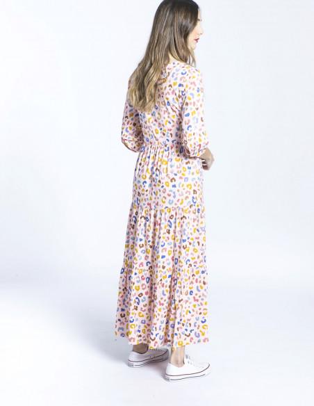 vestido animal print zaina sugarhill brighton sommes demode zaragoza
