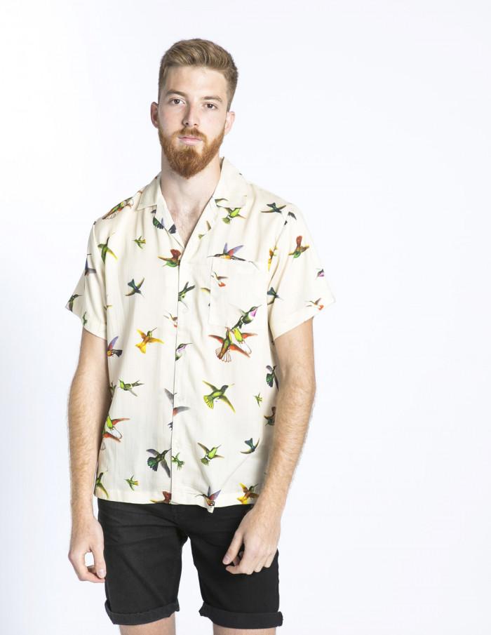 camisa marstrand pajaros dedicated sommes demode zaragoza