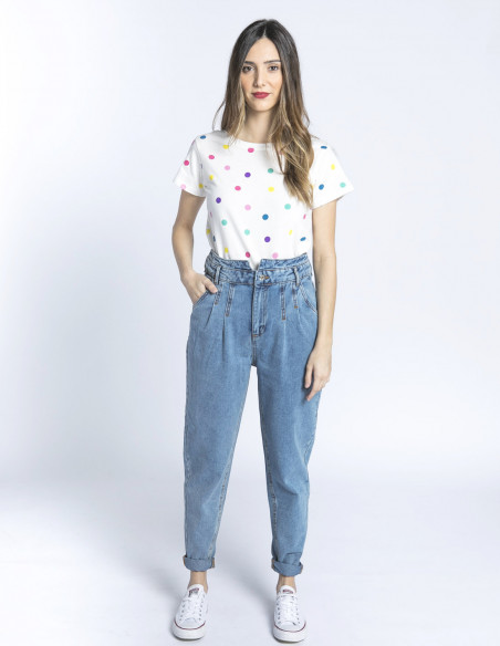 jeans slouchy kato light blue b young sommes demode zaragoza
