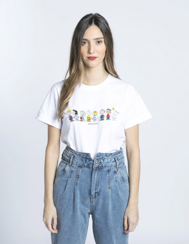 camiseta mysen snoopy crew dedicated sommes demode zaragoza