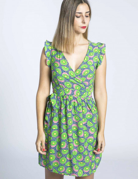 vestido kiwis compañia fantastica sommes demode zaragoza