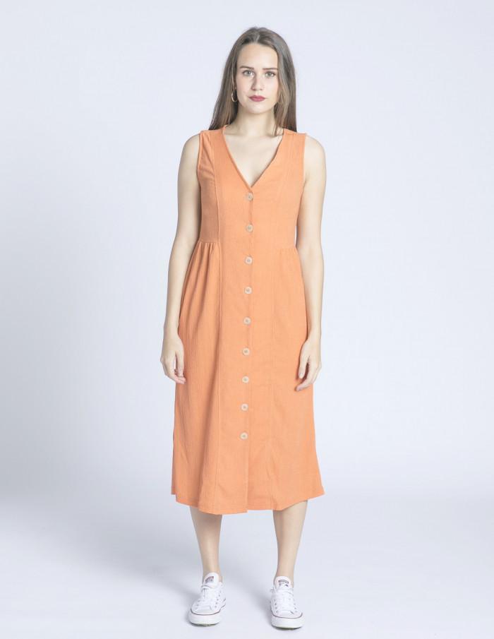 vestido naranja daniella desires sommes demode zaragoza