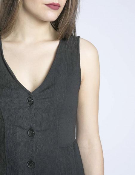 vestido negro daniella desires sommes demode zaragoza