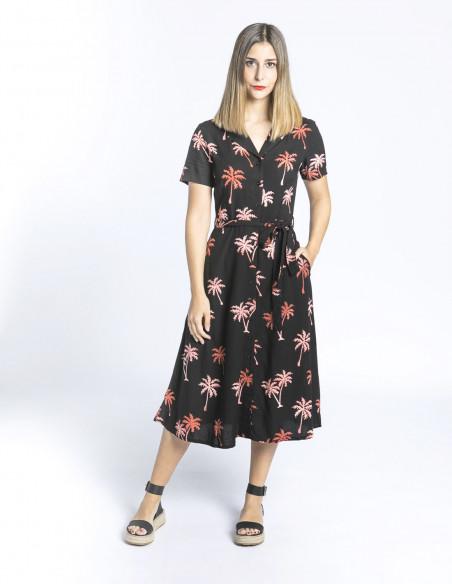 vestido kendra palmeras sugarhill brighton sommes demode zaragoza