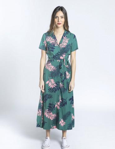 vestido nettie hojas rosas sugarhill brighton sommes demode zaragoza
