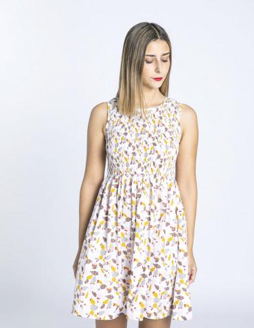 vestido corto setas compañia fantastica sommes demode zaragoza