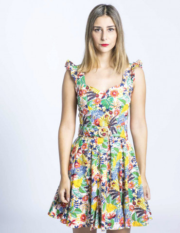 vestido tropical casilda maggie sweet sommes demode zaragoza