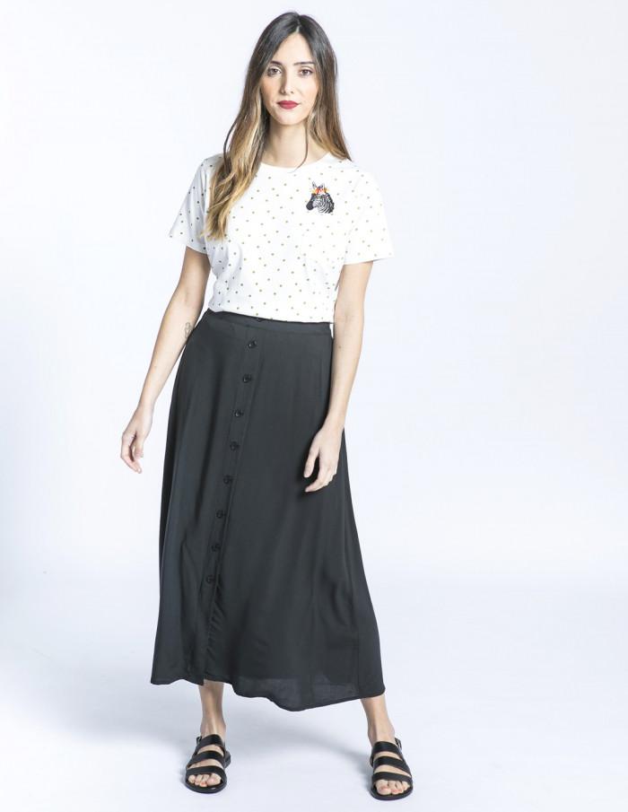 falda midi negra joella byoung sommes demode zaragoza