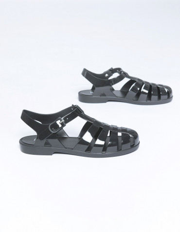 sandalias biarritz negro igor shoes sommes demode zaragoza
