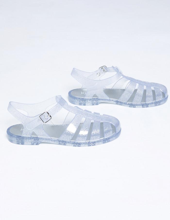 sandalias biarritz glitter plata igor shoes sommes demode zaragoza