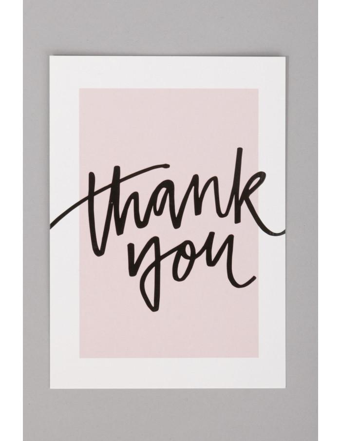 POSTAL THANK YOU