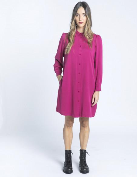 vestido camisero strawberry pepa loves sommes demode zaragoza