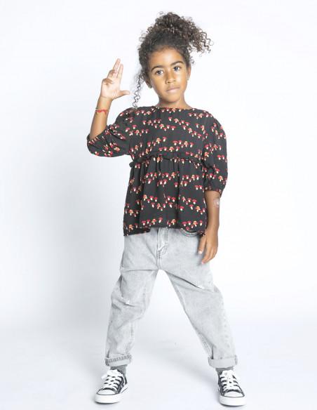 blusa mini estampado de setas compañia fantastica sommes demode zaragoza