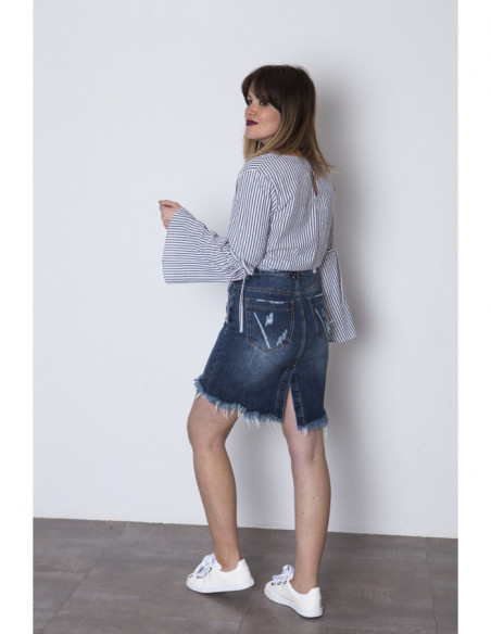 FALDA DENIM PAMELA