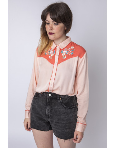 CAMISA CORAL FLORES