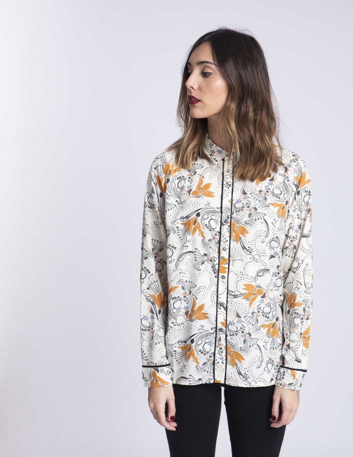 Camisa flores Virginia Sommes Demode