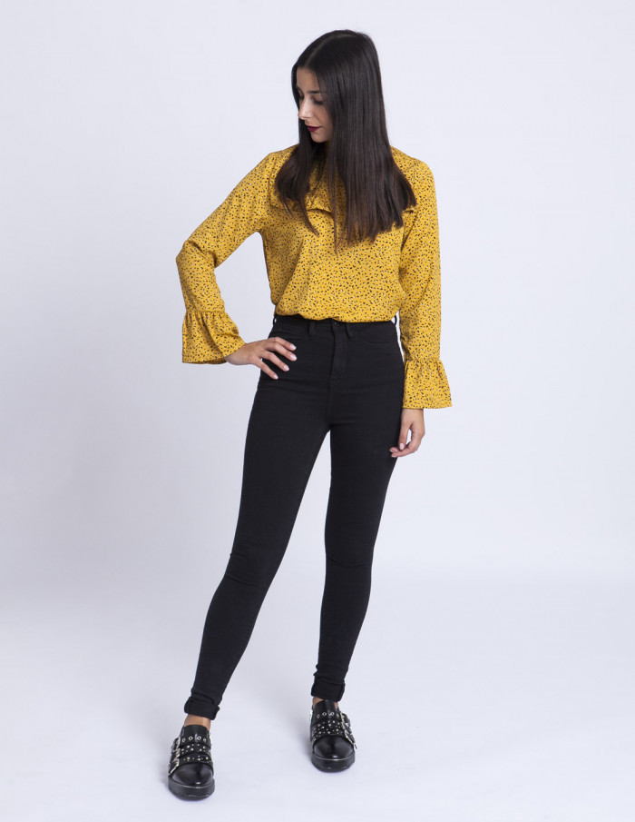 Jeans Negros Paloma ICHI tienda Zaragoza Sommes Demode