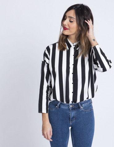 Camisa Rayas Mojito Compañia Fantastica Sommes Demode Zaragoza