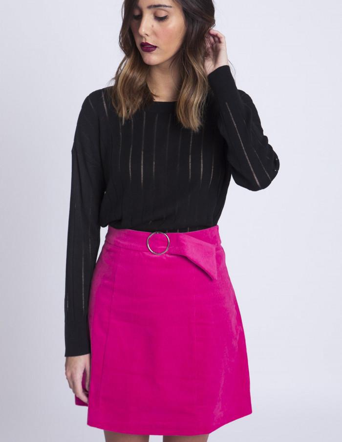 Falda pana rosa Glamorous Sommes Demode
