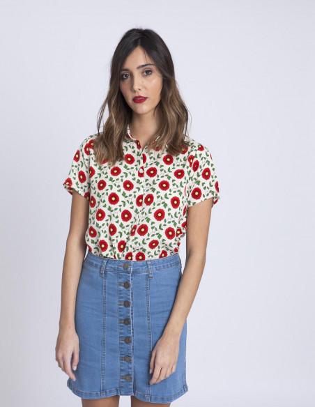 Camisa Amapola Compañia Fantastica Sommes Demode