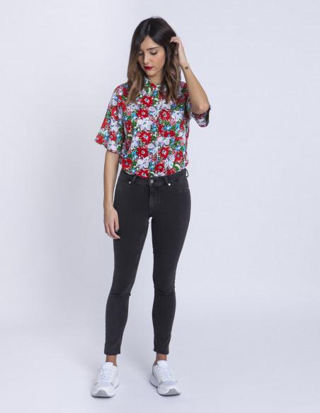 Camisa flores Rose Compañia Fantastica Sommes Demode Zaragoza