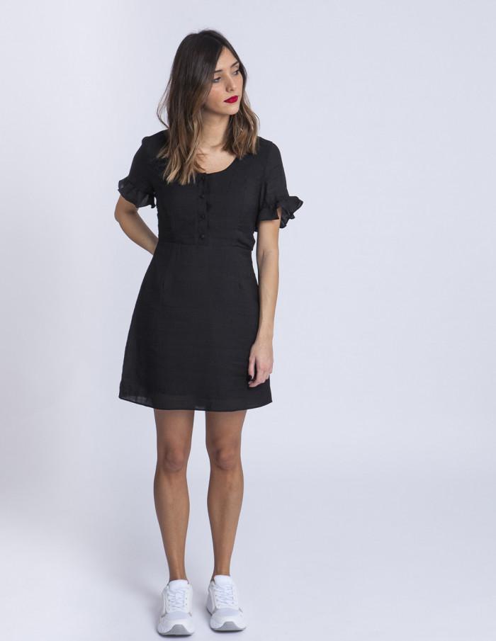Vestido negro Sam Glamorous Sommes Demode Zaragoza