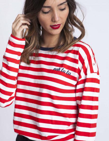 Camiseta Rayas Agnes Blend She Sommes Demode Zaragoza
