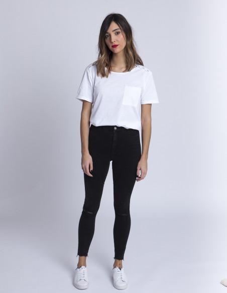 Camiseta Blanca Paola Blend She Sommes Demode Zaragoza