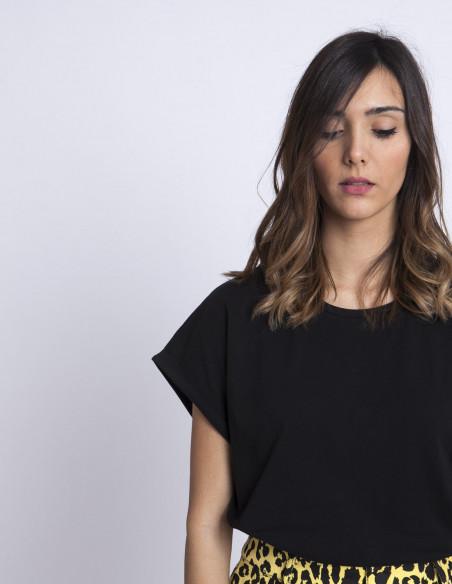 Camiseta Negra Ellen Rut and Circle Sommes Demode Zaragoza