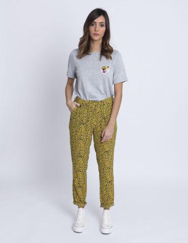 Pantalones Leopardo Elsa Rut Circle Sommes Demode Zaragoza